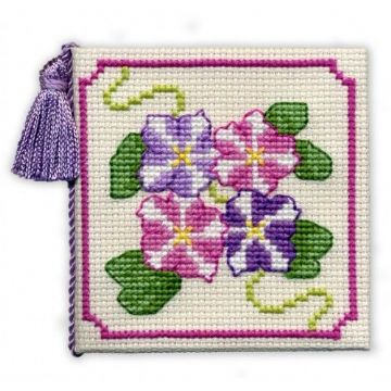 Petunias  Needle Case  Cross Stitch Kit